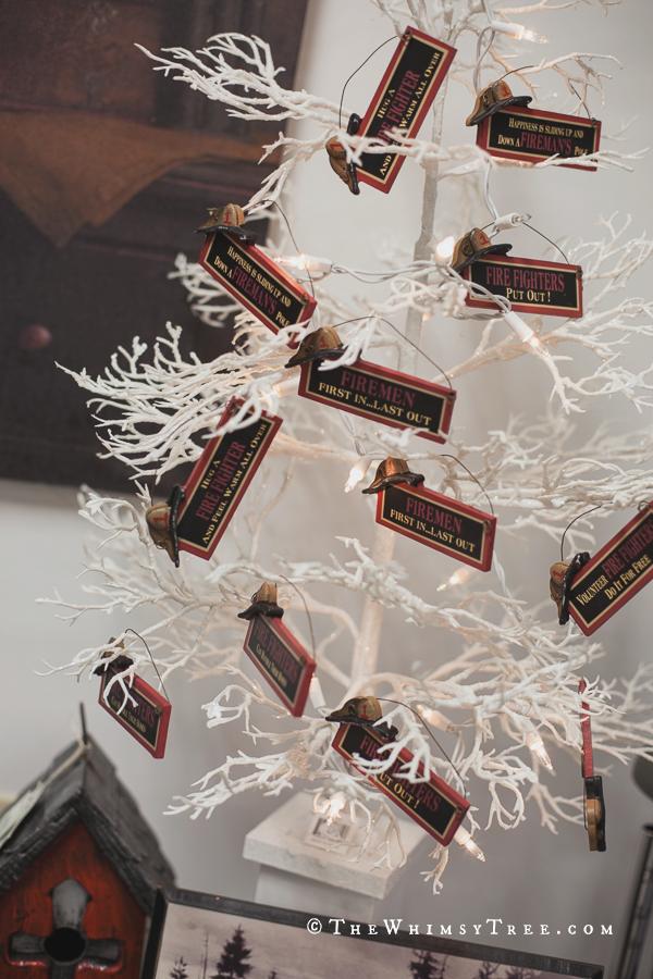 fireman christmas tree